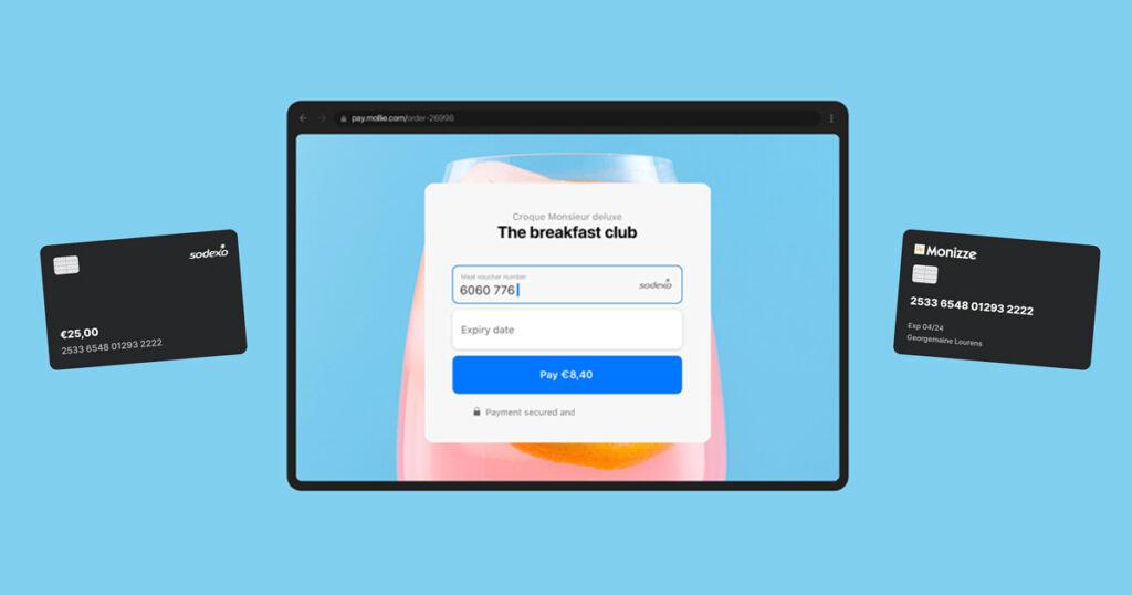 online betalen met eco en maaltijdcheques